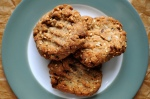 spelt and mixed seed biscuits